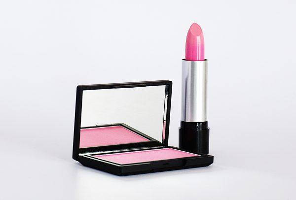 close-up-photo-of-pink-lipstick-and-blush-on-2533266